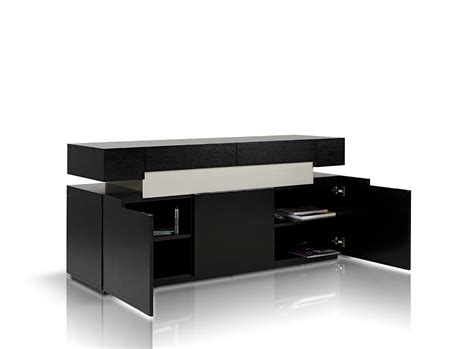 modrest escape black oak buffet