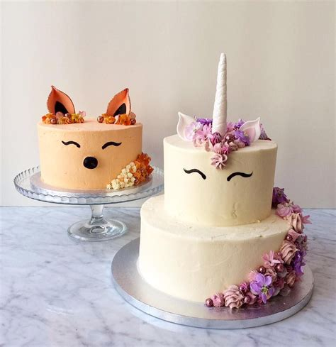 kawaii   resist posting unicorn fox cakes