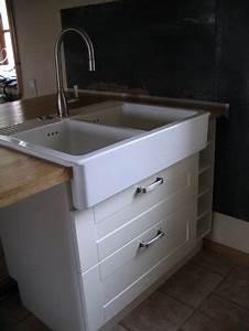 Ikea Cuisine Evier : presque tadaammm la cuisine le bdd36 ~ Melissatoandfro.com Idées de Décoration