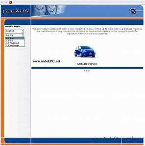Fiat Grande Punto Service Manual Repair Manual Order