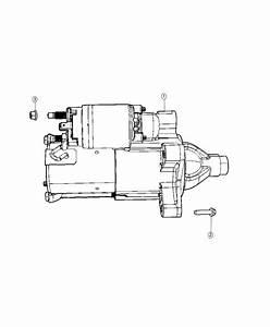 2018 Jeep Wrangler Starter  Engine  Related