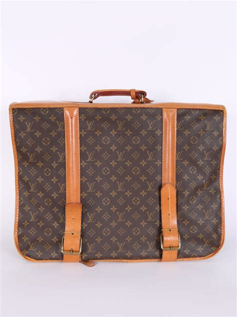 louis vuitton garment vintage monogram canvas travel bag