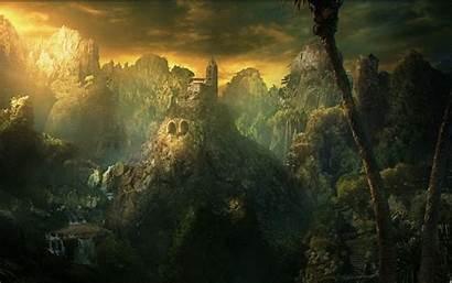 Fantasy Dark Landscape Pixel Wallpapersafari Resolutions