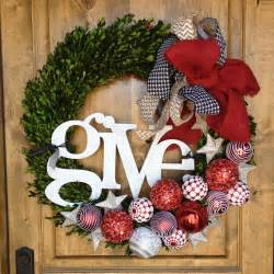 activity days service wreath for auction the of choosing