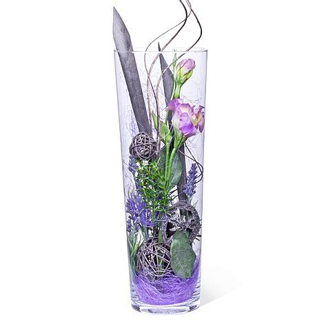 Hohe Vase Dekorieren by Hohe Glasvase Dekorieren Ideen
