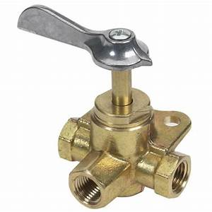 Three Way Fuel Valve  Three Female 1