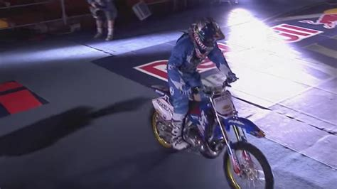 Robbie Maddison's Red Bull New Years Motorcycle Jump at a ...