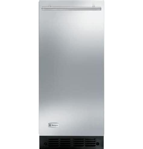 zdiszss ge monogram high production large capacity automatic icemaker monogram appliances