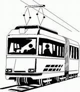 Tram Coloring Metro Da Colorare Disegni Disegno Treno Immagini Di Results Printable sketch template