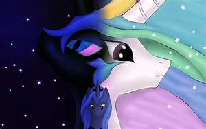 Nightmare Moon Princess Luna And Princess Celestia W