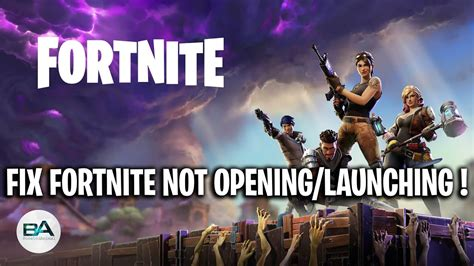 fix fortnite  opening  epic games season