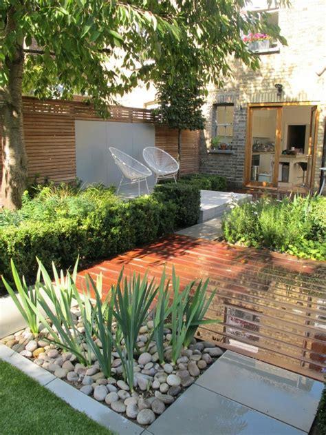 Hoher Sichtschutz Garten Ideen by 1001 Ideen F 252 R Moderne Gartengestaltung Zum Genie 223 En An