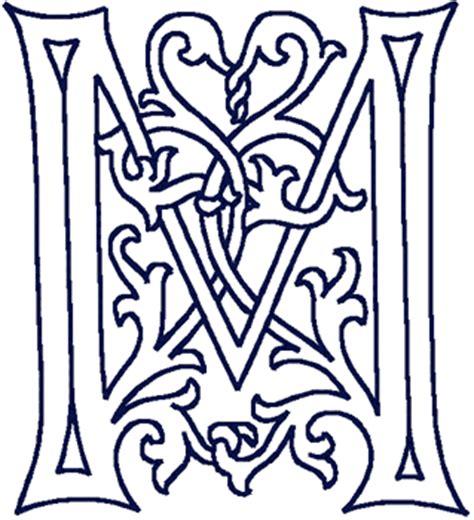german caps decorative alphabet embroidery design