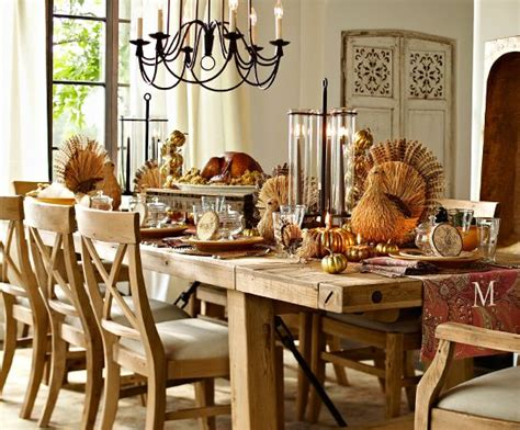 rustic thanksgiving party ideas  pottery barn