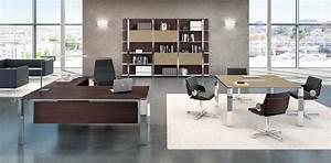 Bureau Moderne Design : mobilier de bureau moderne design 4 avec bureau de direction contemporain haut de gamme seven en ~ Teatrodelosmanantiales.com Idées de Décoration