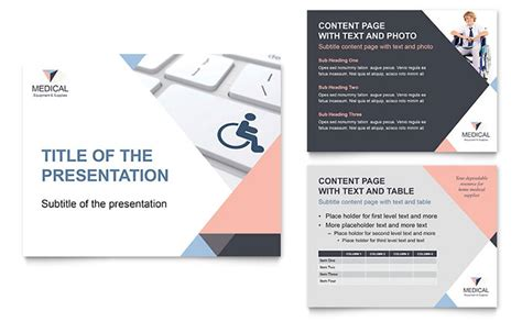 themes powerpoint presentations home medical equipment powerpoint presentation template design