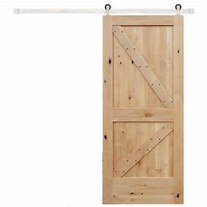 pinecroft 32 in x 81 in timber hill wood barn door with With 32 inch sliding barn door