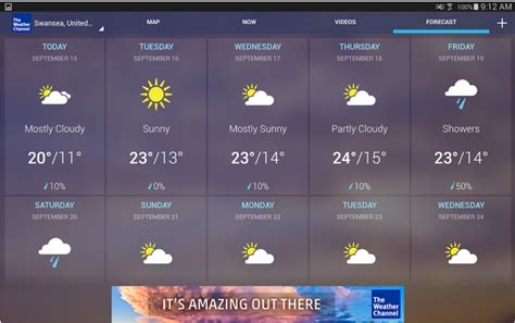the weather channel app for android 5 best weather apps for android and iphone
