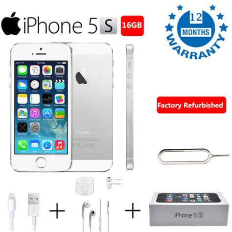 buy used iphone buy refurbished iphone 5s 16gb silver at lowest prices