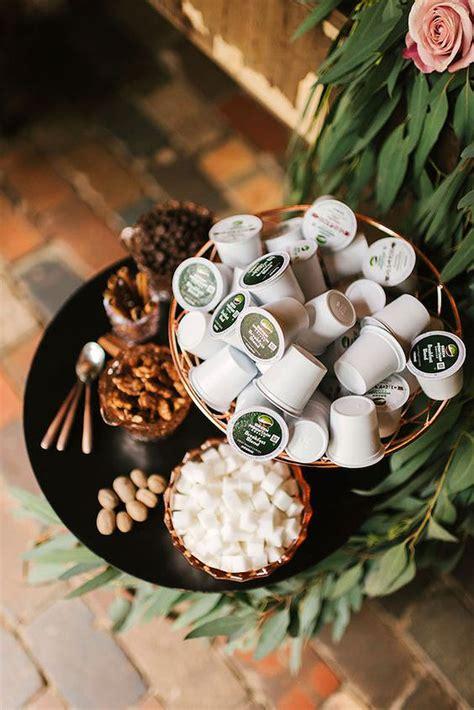 ways  serve coffee   wedding martha stewart weddings