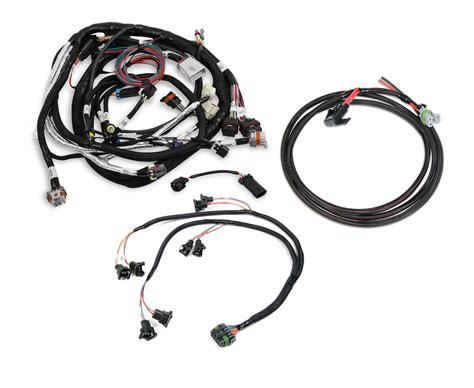 dominator hp efi harness kit gm ls2 ls3 ls7 58x crank sensor bosch injector gm performance