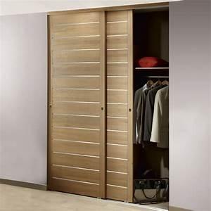 fabriquer une porte de placard maison design bahbecom With fabriquer porte placard coulissante