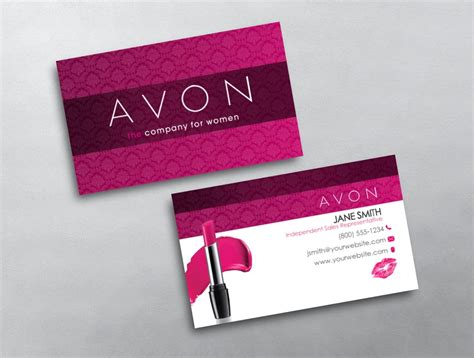Avon Business Card 01 Personal Business Card Template Word Christmas Templates Free Design Microsoft Apply To All Scanner Software Outlook That Works With Salesforce Genius