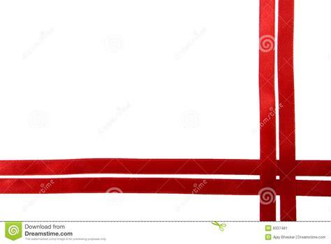 red ribbon border stock image image  shine design