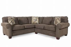 broyhill choices two piece sectional mathis brothers With sectional sofa mathis brothers