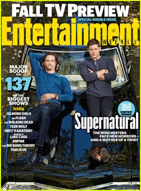 'supernatural' Lands 'entertainment Weekly' Fall 2016 Tv