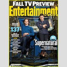 'supernatural' Lands 'entertainment Weekly' Fall 2016 Tv