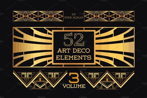 52 Art Deco Design Elements Vol.3