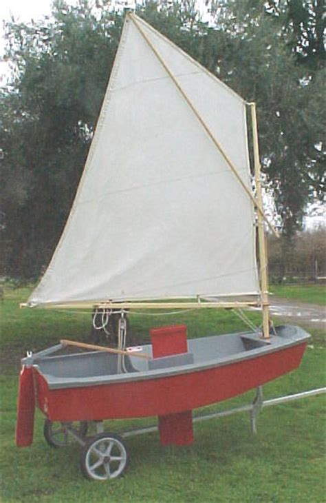 optimist sailboat build  steps  pictures