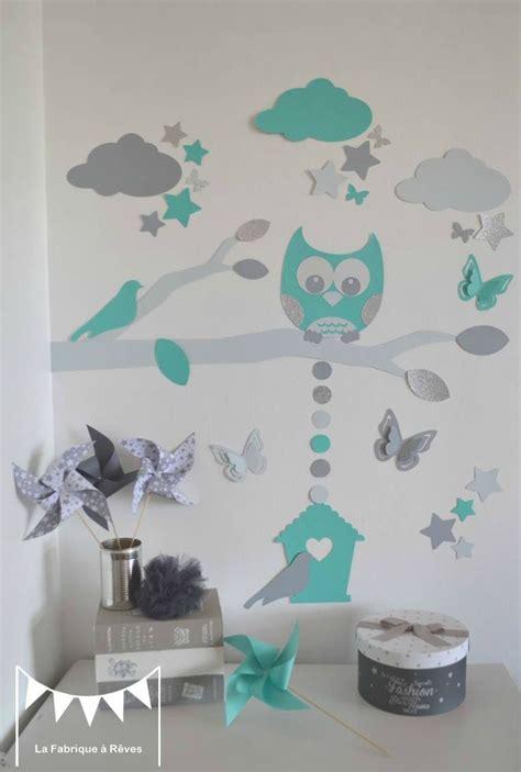 chambre bébé stickers beautiful chambre bebe turquoise et gris photos seiunkel