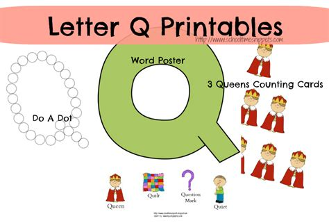 Letter Q Toddler Activities