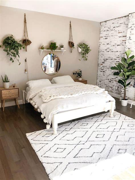 Bedroom Minimalist by My Boho Minimalist Bedroom Reveal