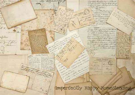 Lost Letter Writing by The Lost Of Letter Writing The Imperfectly Happy Home