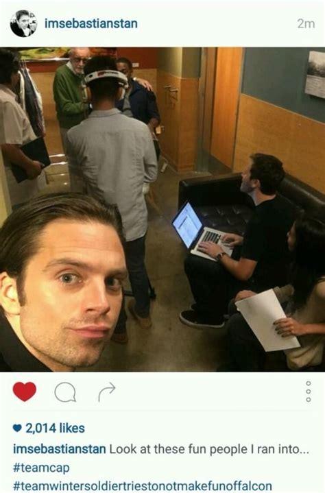 The Stucky Squad | Sebastian stan, Sebastian stan funny ...