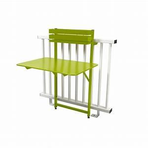 Table De Balcon Pliante : table de balcon pliante fermob bistro acier l77 cm ~ Melissatoandfro.com Idées de Décoration