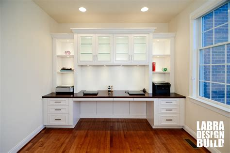 how to build a built in desk with drawers traditional white painted maple built in desk northville mi