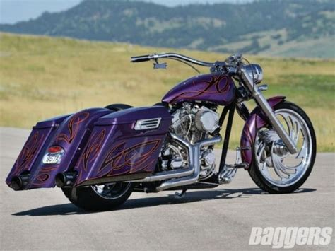 Custom Built Bagger One Of A Kind Motorcycle