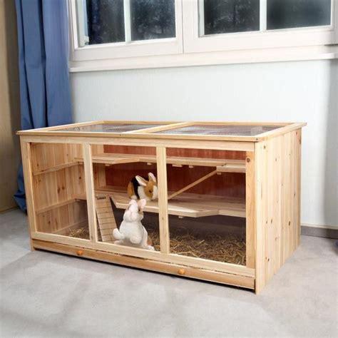 cage 224 lapins en bois 117 cm achat vente cage