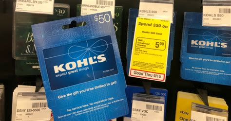 Save with kohl`s charge card. $50 Kohl's Gift Card Just $45 After CVS Rewards - Hip2Save