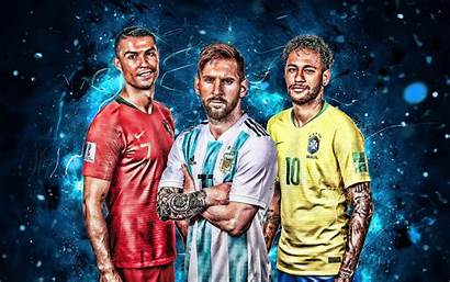 Ronaldo Cristiano Wallpapers 4k Messi Neymar Football