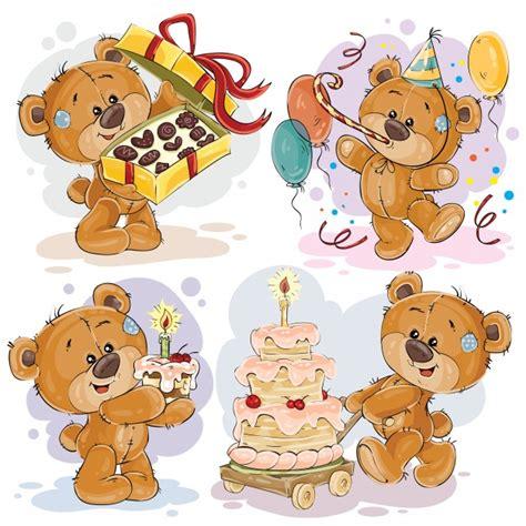 clipart compleanno illustrazioni clip di orsacchiotto desidera un buon