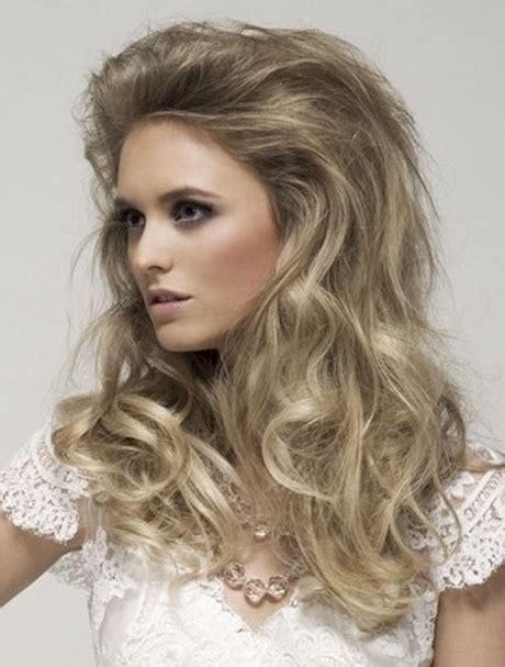 peinados elegantes  cabello largo suelto