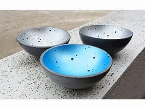 Schalen Aus Beton : betonschale freischwinger blau ~ Lizthompson.info Haus und Dekorationen