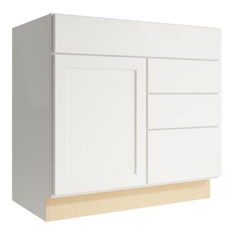 36 3 drawer base cabinet shop kraftmaid momentum cotton paxton 1 door 3 drawer