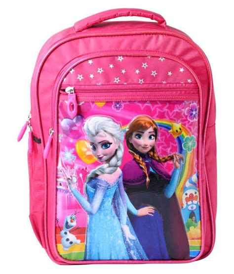 Best shop School Bags combo backpack pink colour for girls ...