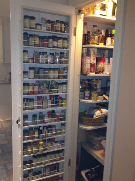 kitchen white wooden pantry kitchen cabinet door  full length spice shelve estanterias